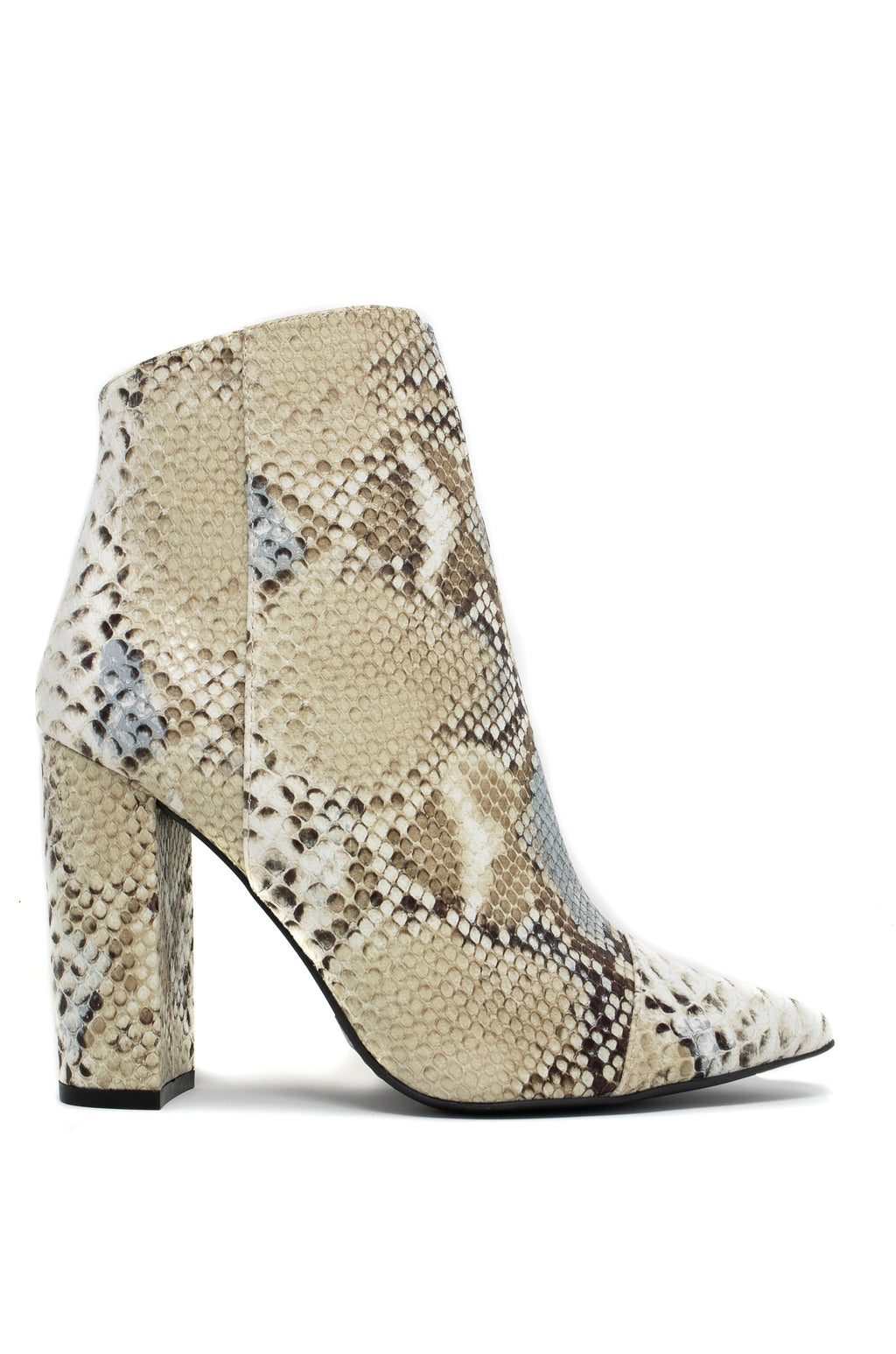 No Limits - Stone Snake Booties
