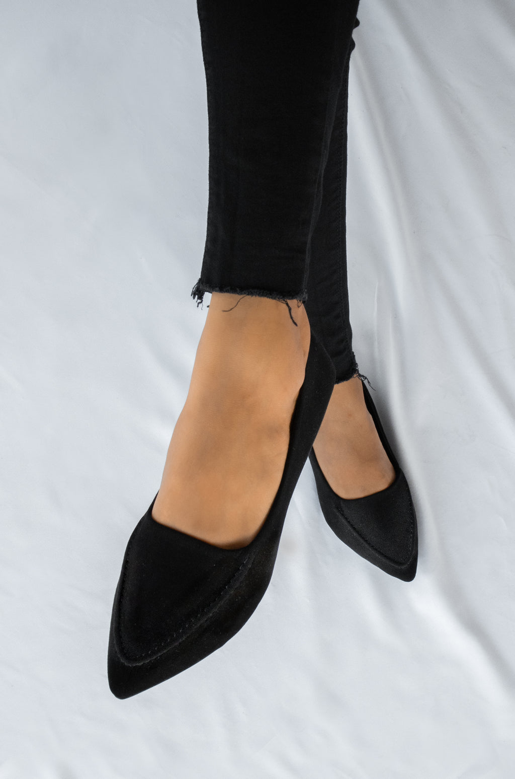 On Point - Black Loafer Flats