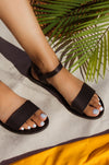 Rosarito Vibes - Black Sandals