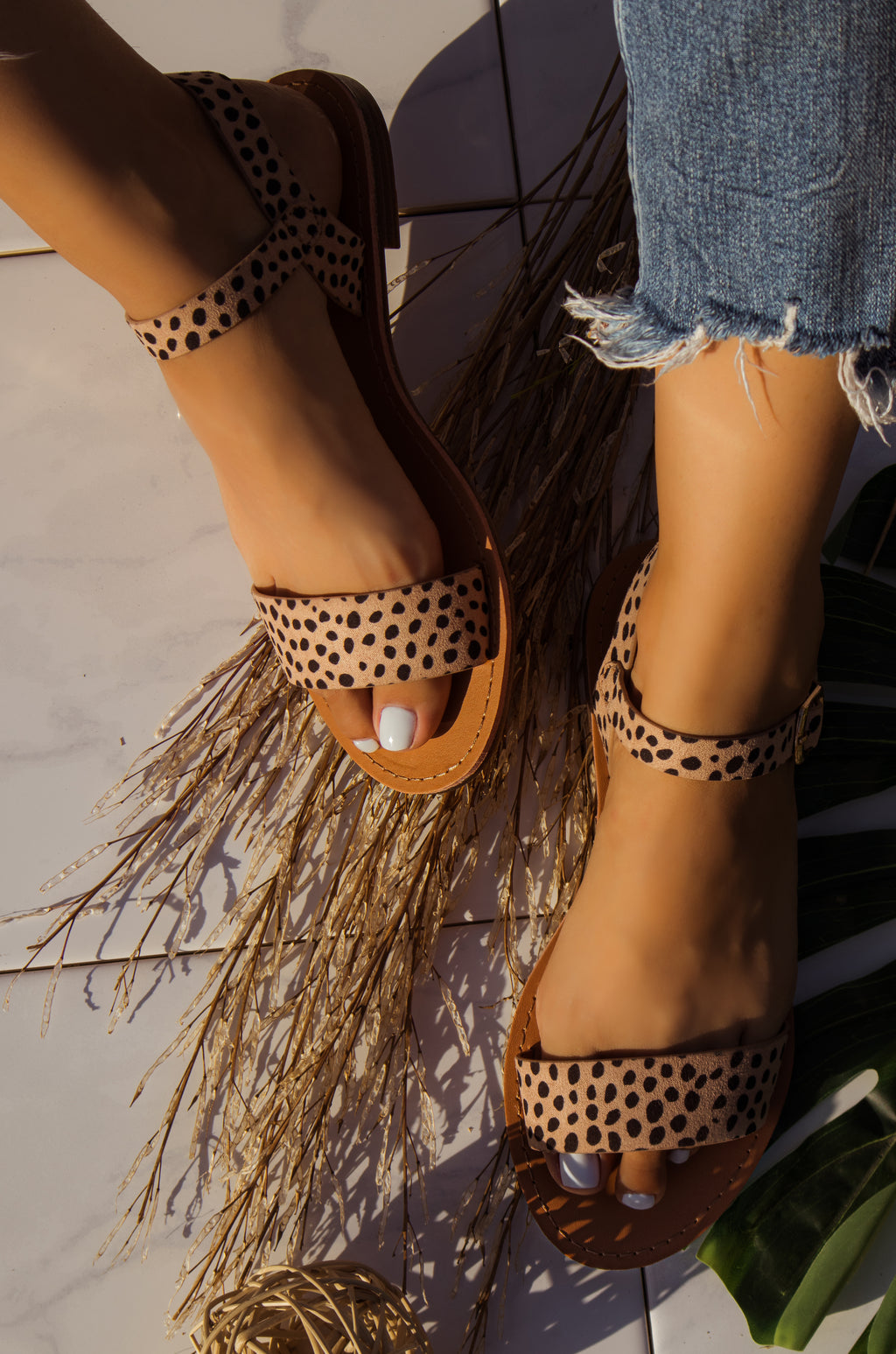 Rosarito Vibes - Cheetah Sandals