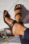 So Lively - Black Mules