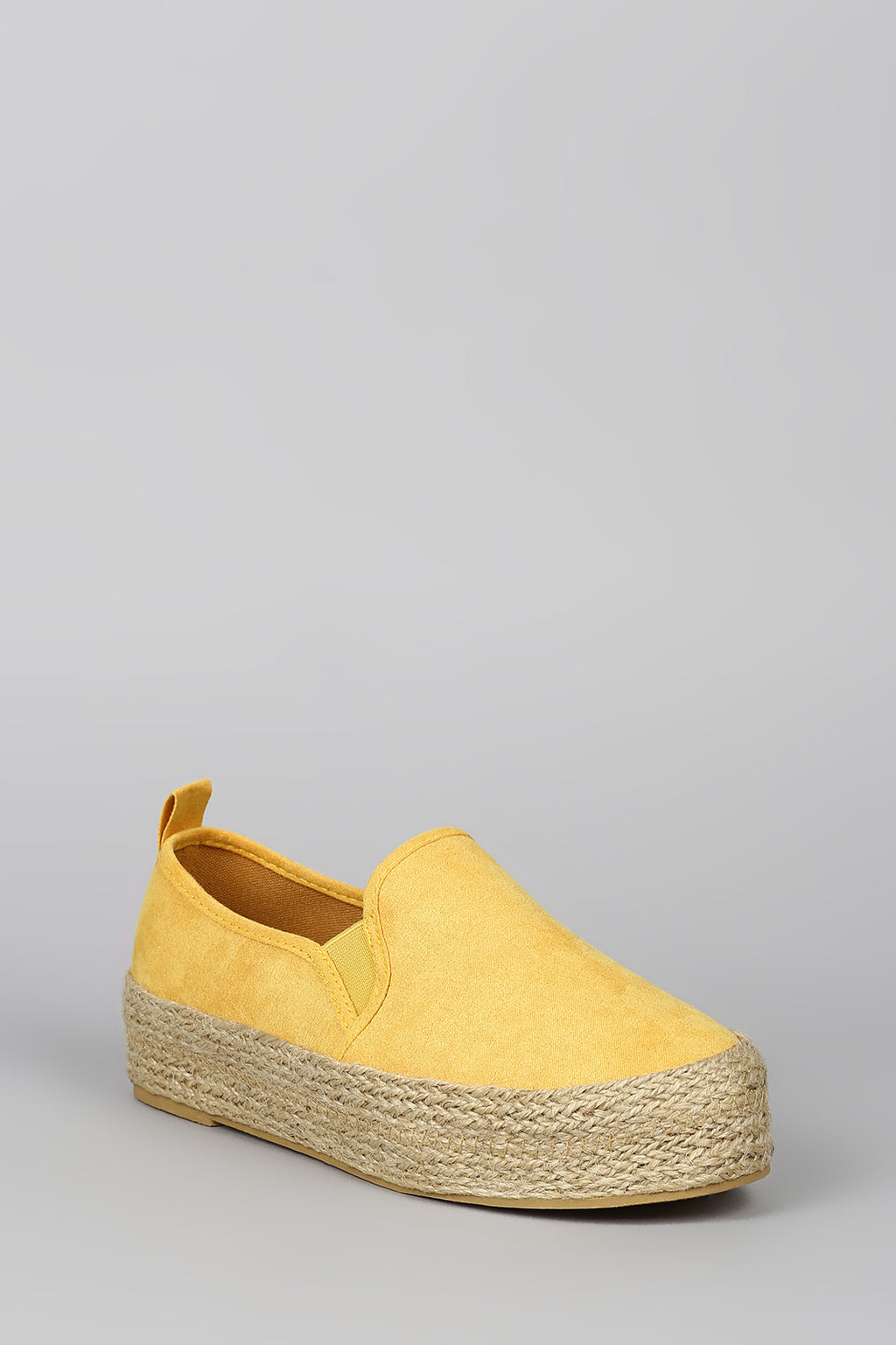 Spring Fling - Yellow Espadrille Sneakers
