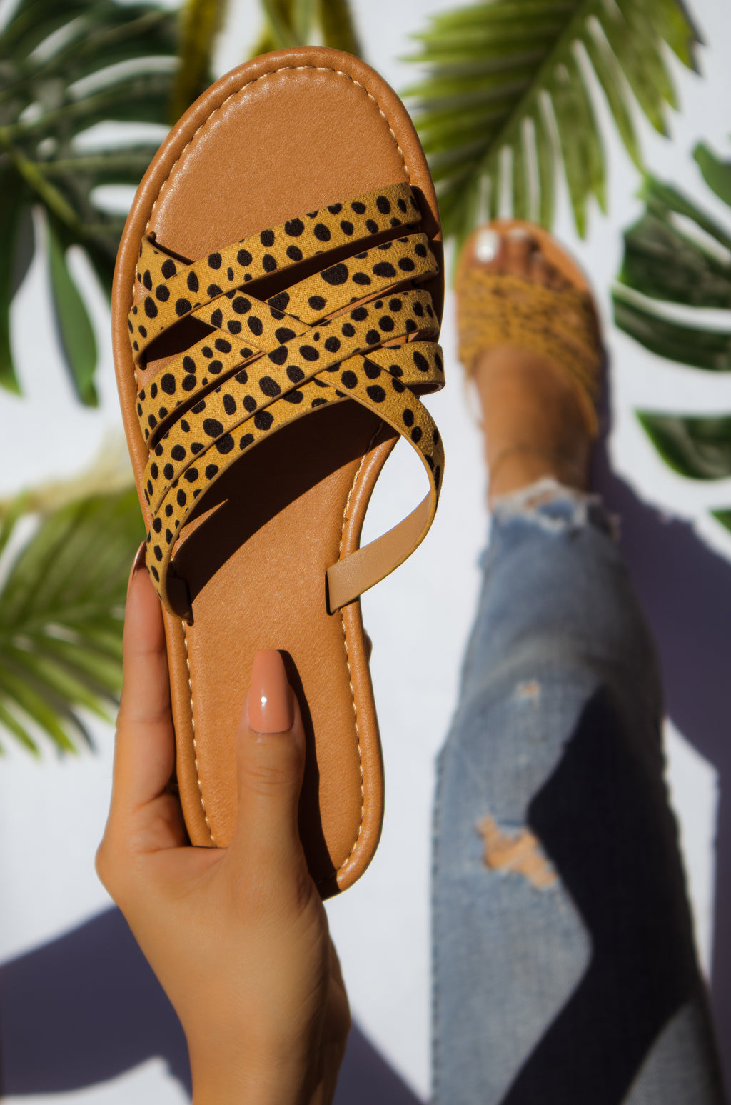 Summer Nights - Cheetah Sandals