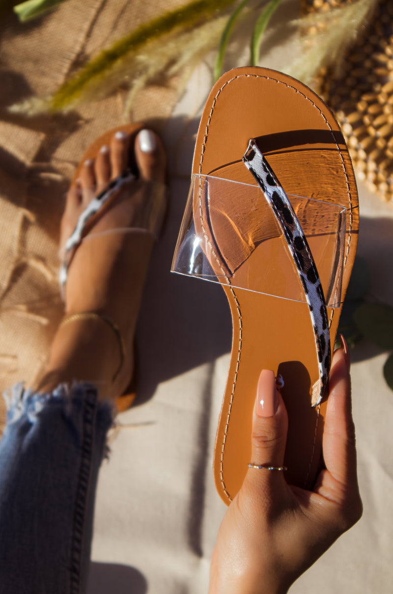 Sunkissed - Leopard Sandals