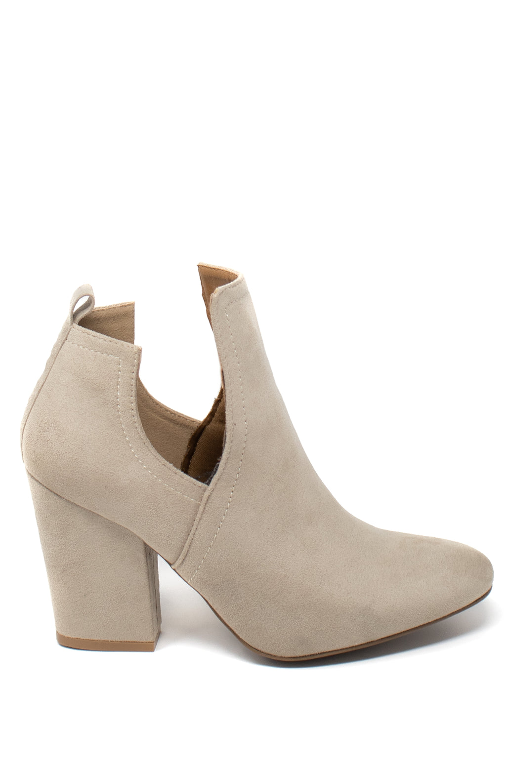 Sweet Kiss - Oatmeal Cutout Booties