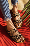 Tempted To Touch - Leopard Sandals