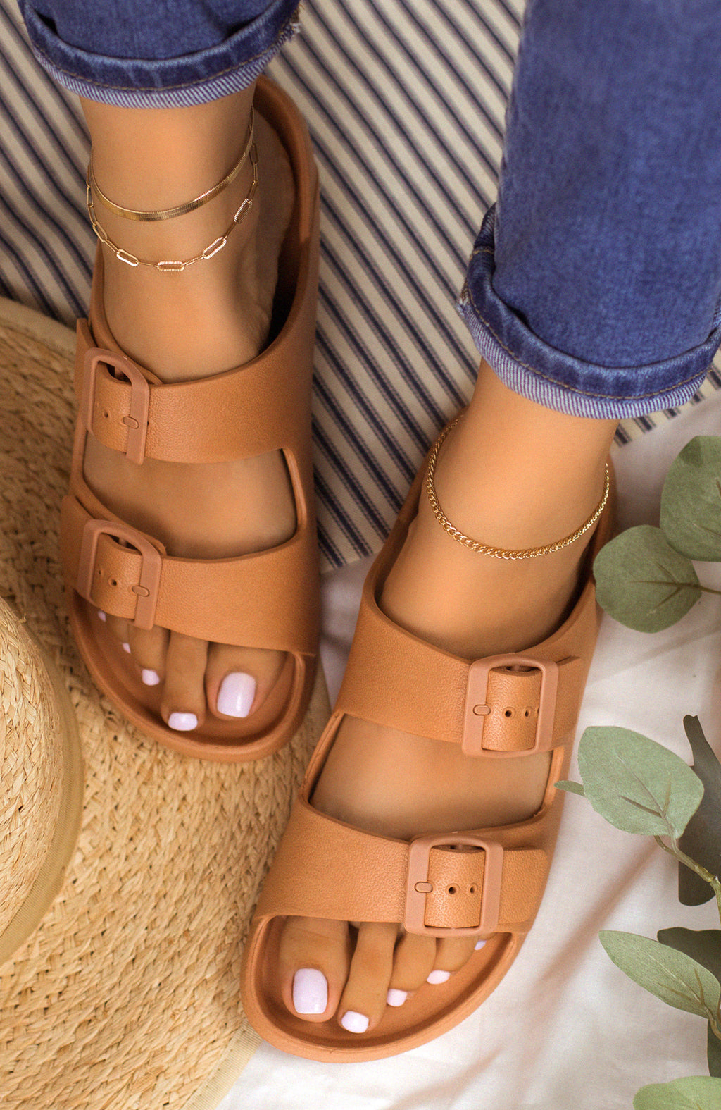 Travel Bound - Blush Sandals