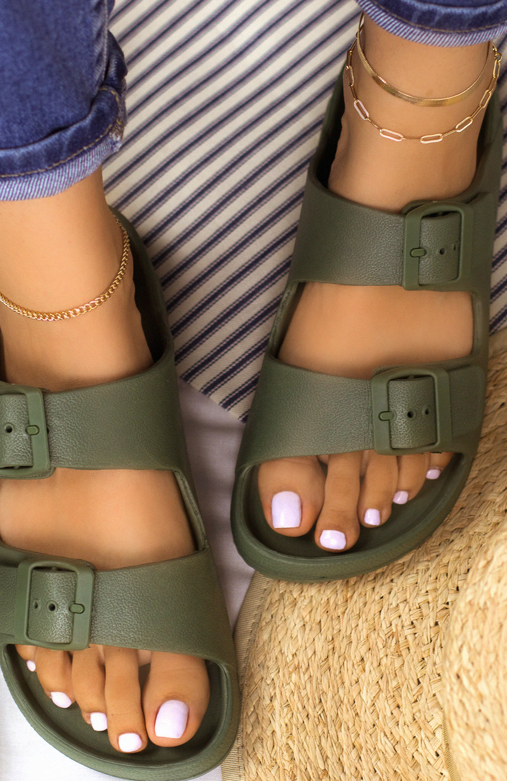 Travel Bound - Khaki Sandals