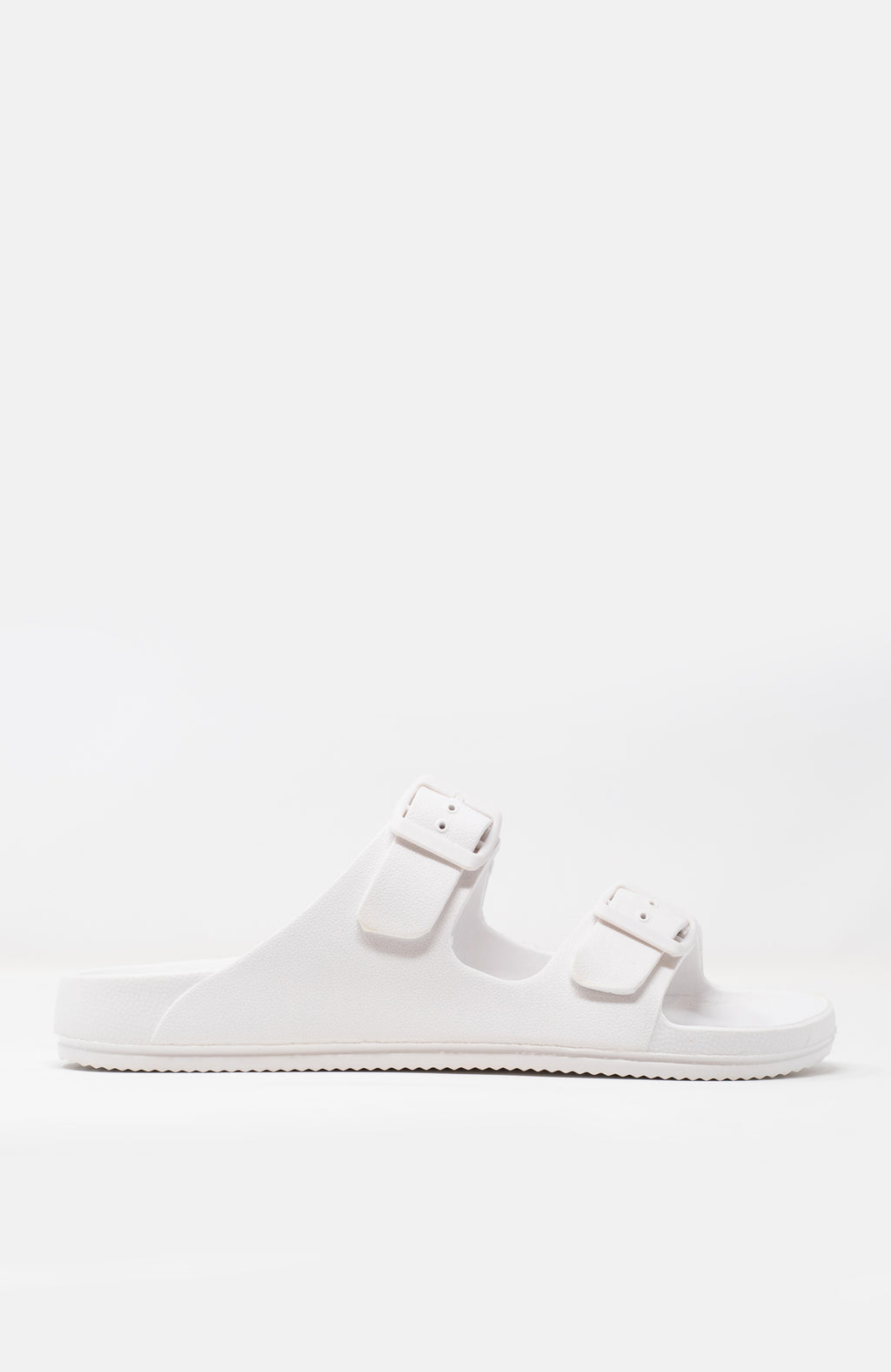 Travel Bound - White Sandals