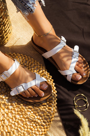 Tropical Adventure - White Sandals