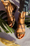Wanting More - Camel Snake Sandals