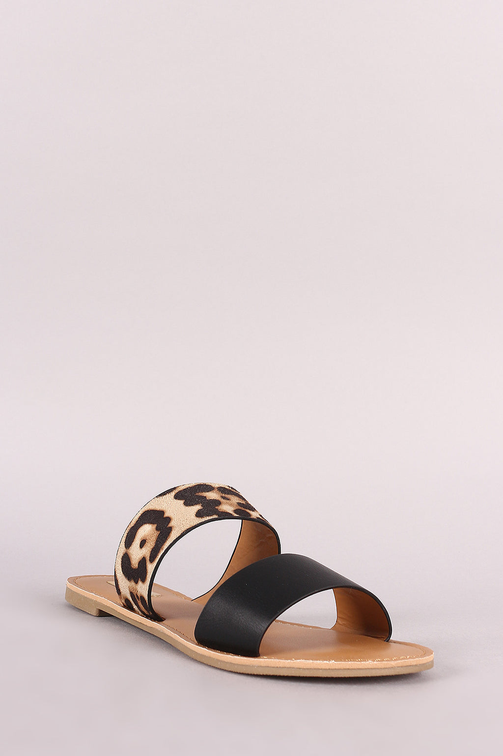 Havana Nights - Leopard Two Band Sandals