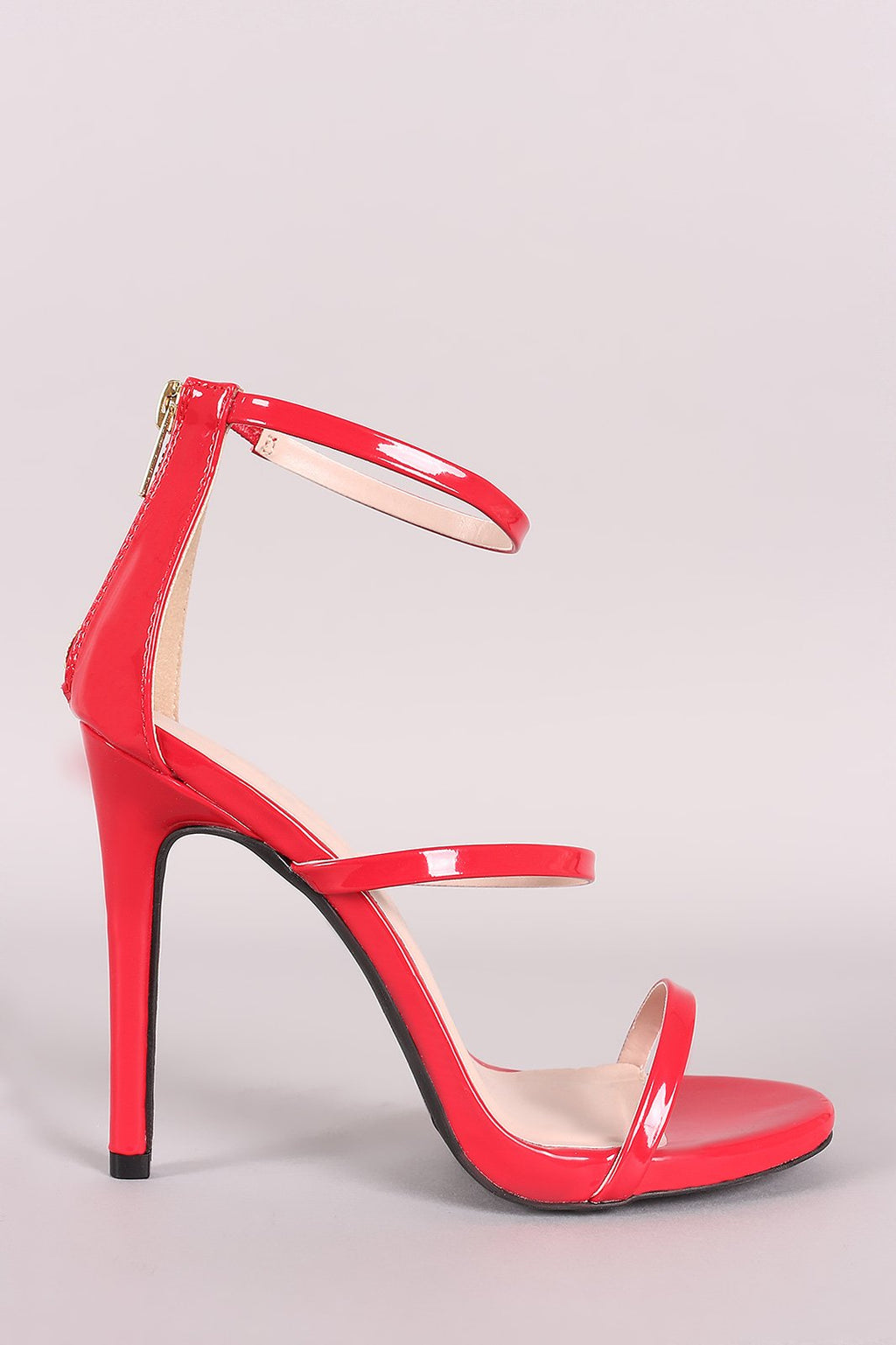 Total Doll - Red Triple Band Heels