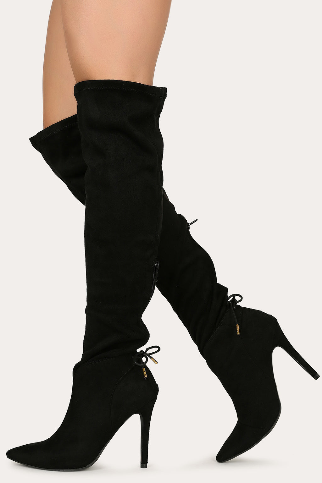 Hot Affair - Black Stiletto Boots