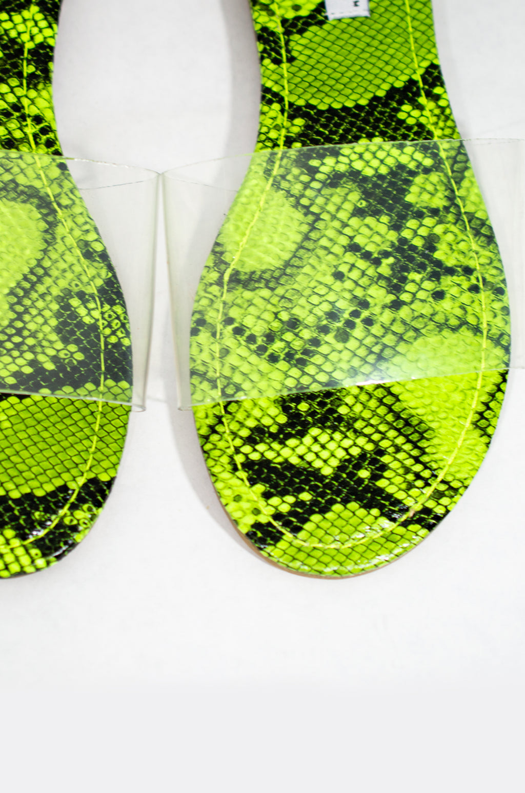 She Is Poison - Neon Lime Snake Slides