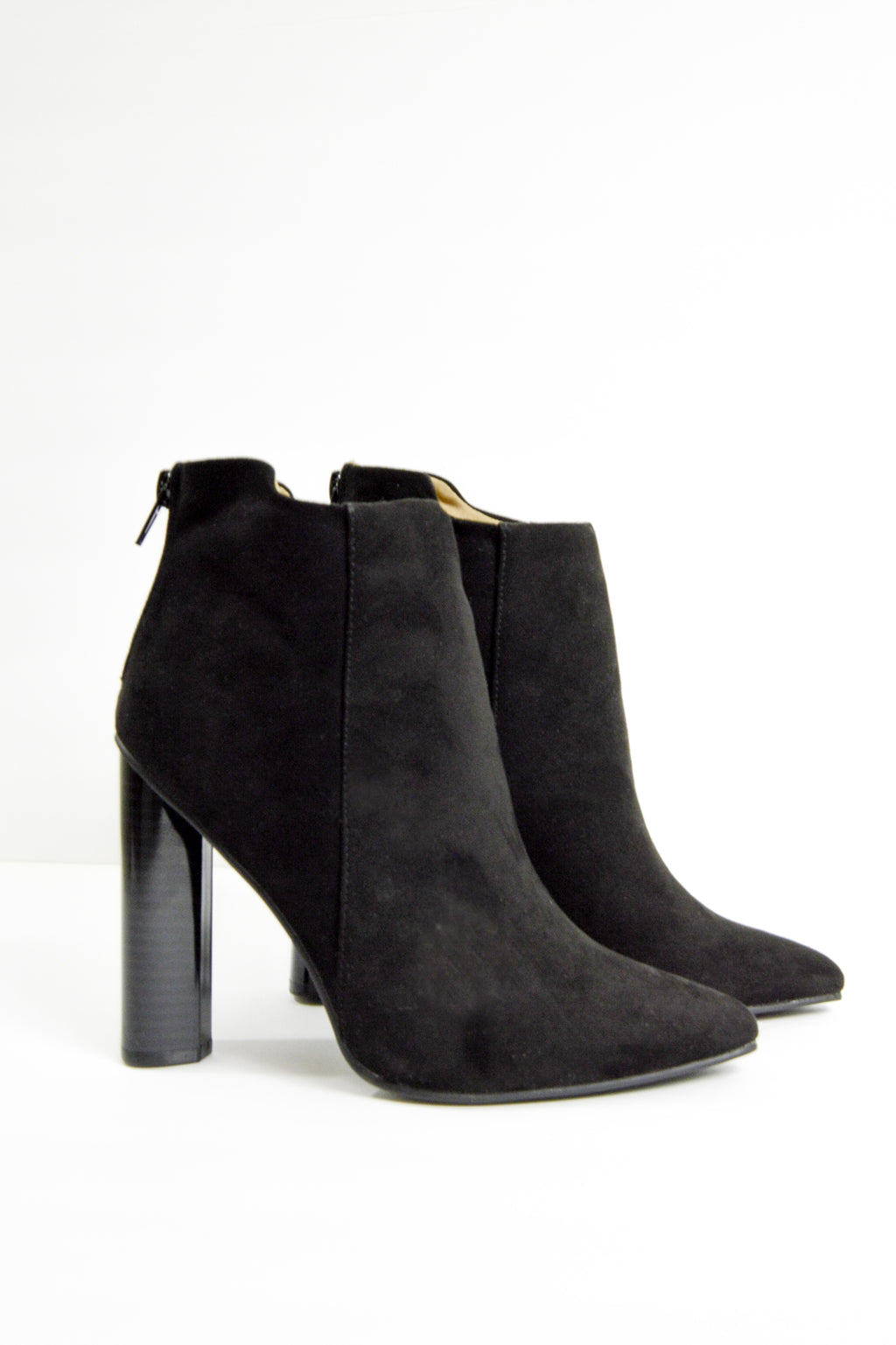 Shot Caller - Black Ankle Booties