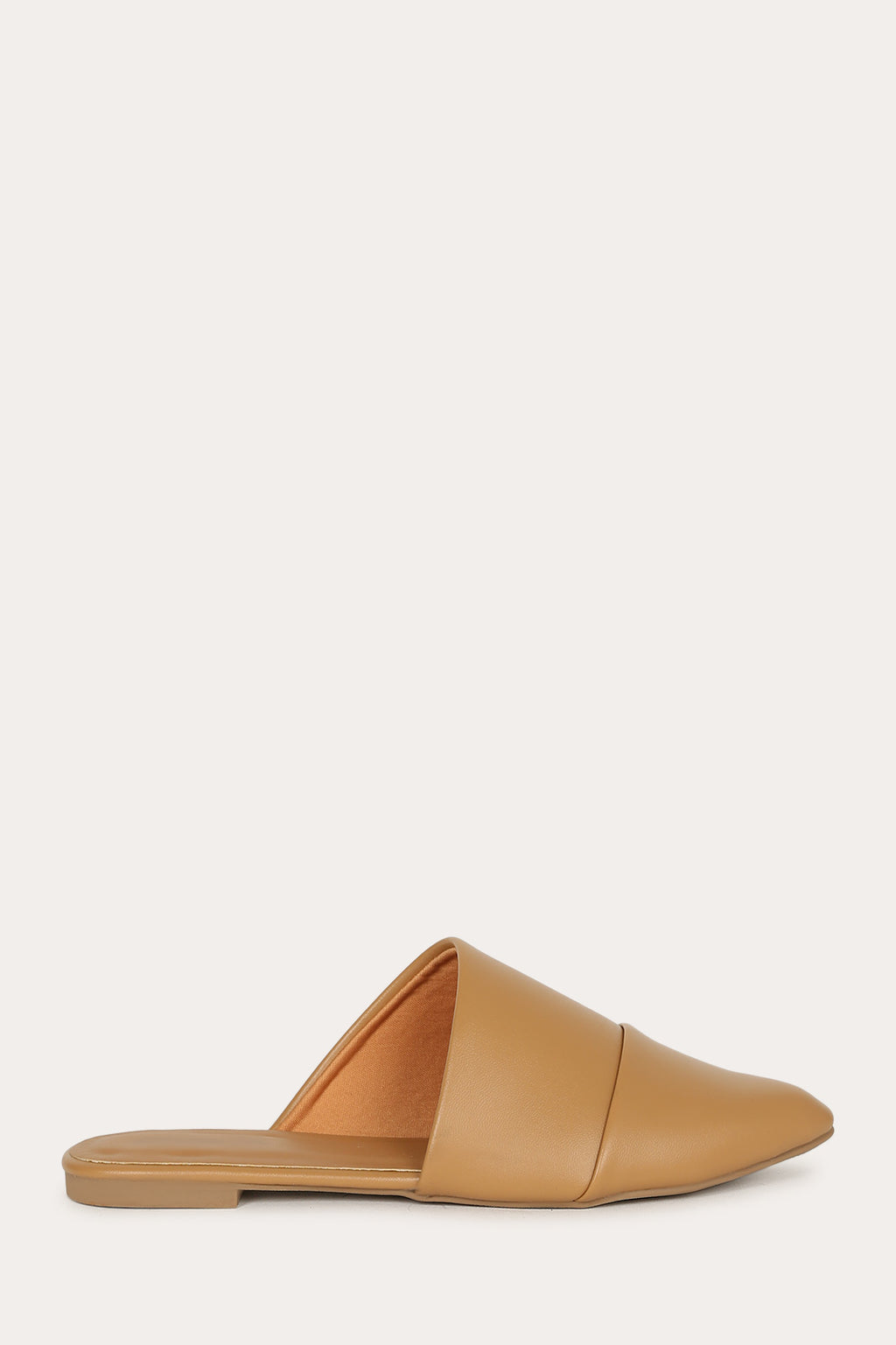 Casual Fling - Butterscotch Asymmetrical Cut Flats