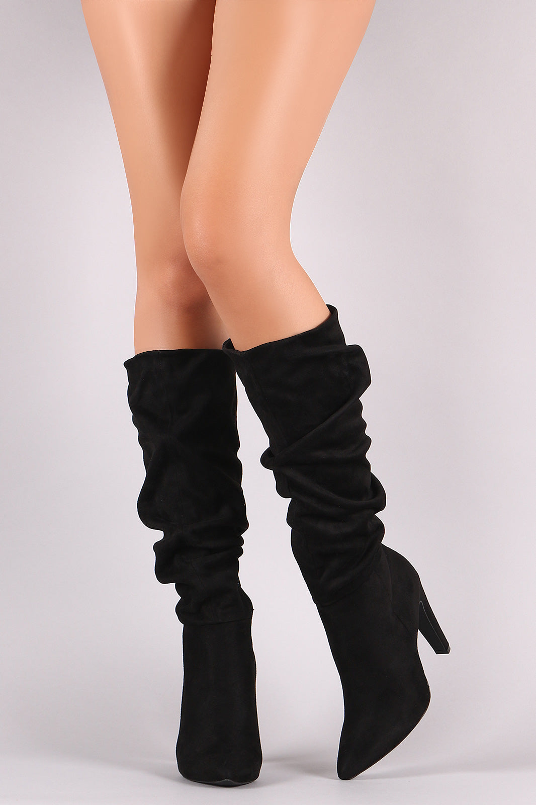 Black Slouch Boots – Iconic Fashion
