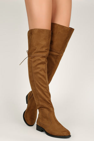 Trendsetter - Camel Knee High Boots