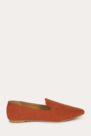 Making Moves - Brick Loafer Flats