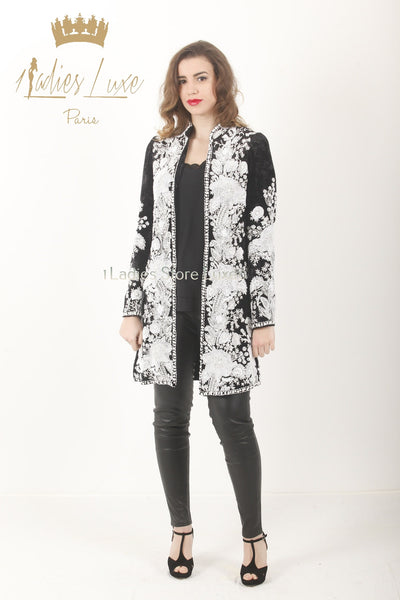 Veste DIAMANTA Black & White