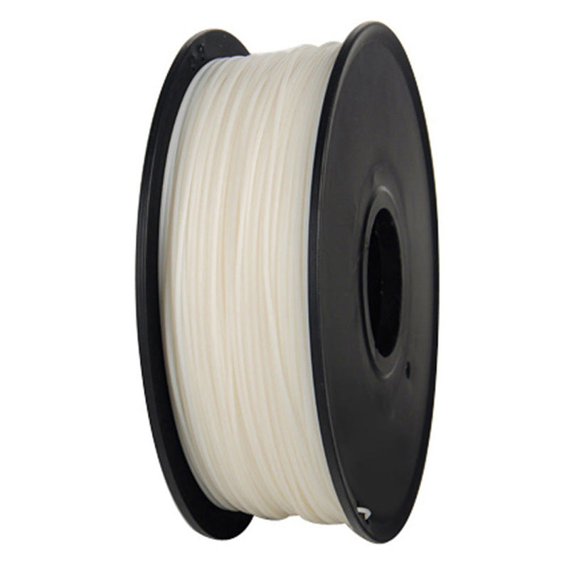 3D Printer ABS Filament 1.75mm 1KG 2.2LB Premium Material Spool Roll White