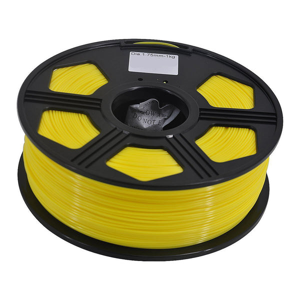 3D Printer ABS Filament 1.75mm 1KG 2.2LB Premium Material Spool Roll Yellow