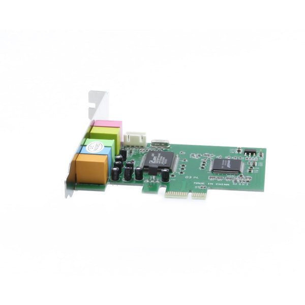 axGear PCI Express Sound Card PCI-E Audio Adapter Internal 6 Channel 5.1