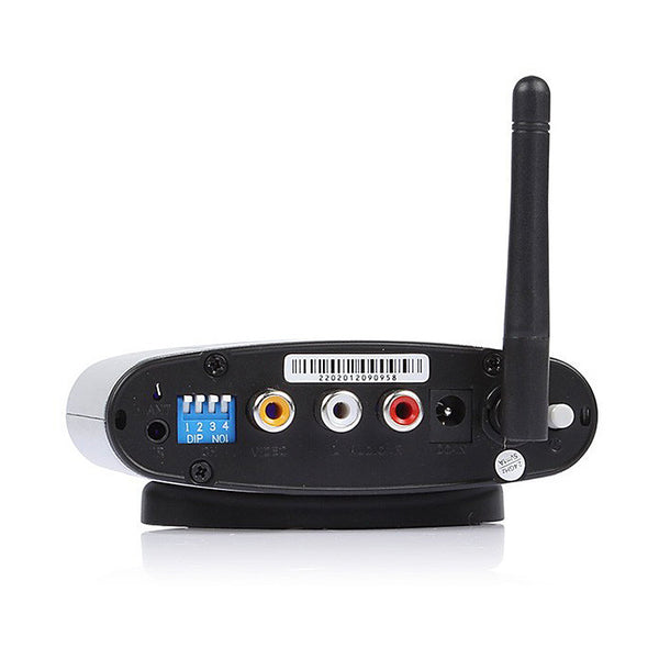 2.4GHz AV Sender Audio Video AV Wireless Transmitter Receiver IR Remoter 250M