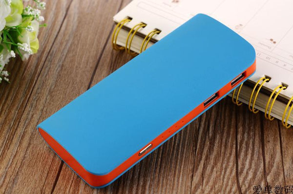12000 mAh Power Bank Portable 2 USB Port External Battery Charger for Tablet