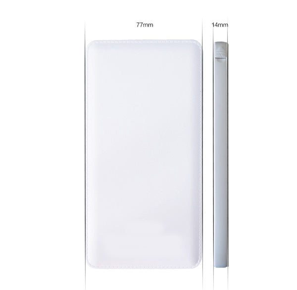 10000mAh Ultra Slim Power Bank Portable Backup Battery Charger for Tab Phone