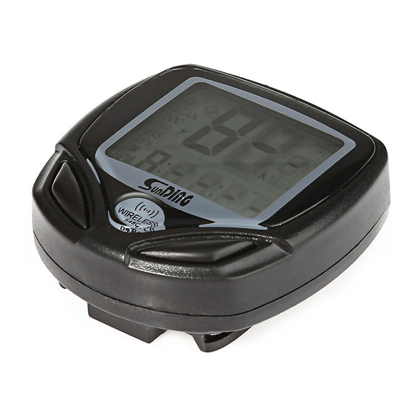 Bike Speedometer LCD Wireless Bicycle Computer Odometer Cadence Waterproof