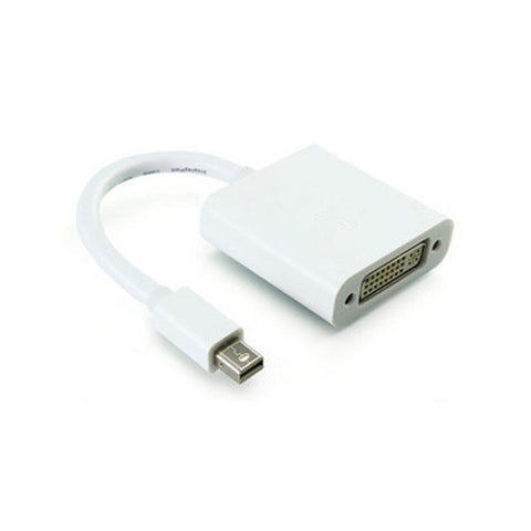 axGear Mini Displayport To DVI Cable Adapter Male to Female Thunderbolt Video Display Converter M/F