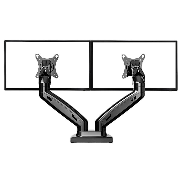 Dual Monitor Desk Mount Gas Spring Arm Stand Table Deskmount for LCD Screen