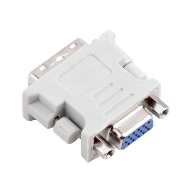 axGear DVI to VGA Adapter DVI-I 24+5 Dual Link Male to SVGA / DB15 Female Converter M/F
