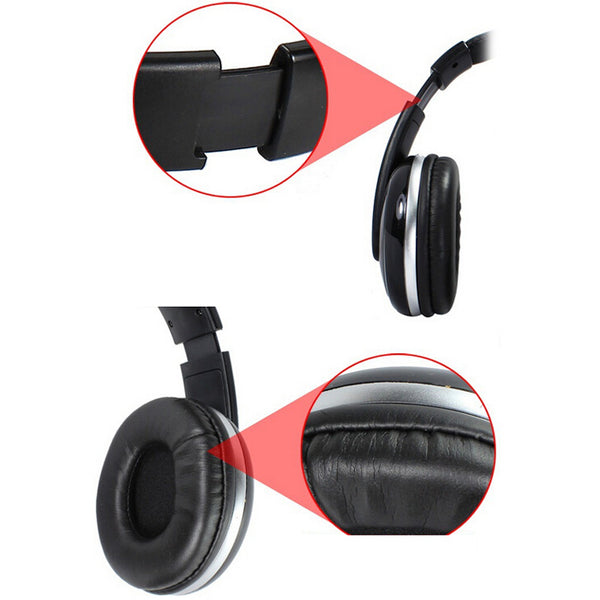 3.5mm Stereo HiFi Music Gaming Headset Headphone With Microphone for PC Computer