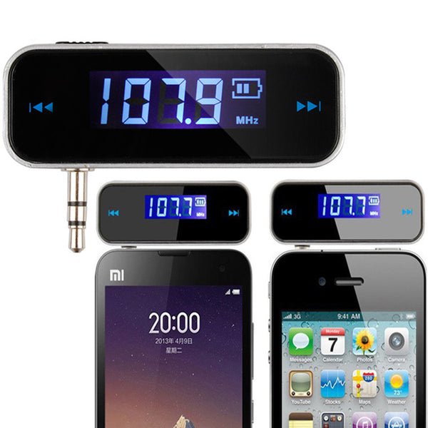 axGear FM Transmitter For MP3 Music Player Mobile Cell Phone 200 Channels