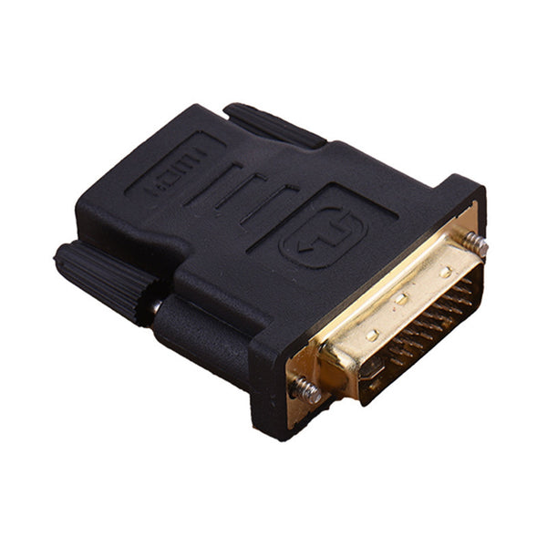 axGear HDMI Female to DVI Male Adapter HDMI to DVI-I Dula Link 24+5 F/M Converter