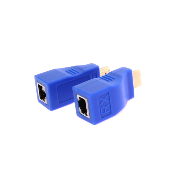 axGear HDMI Over CAT5e Extender HDMI Through RJ45 Cat6 Network Extension With Audio up to 100Ft 30M