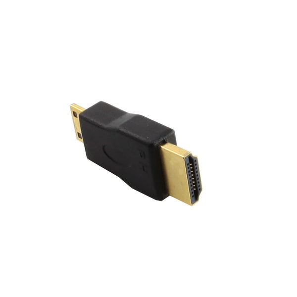 axGear HDMI Male to Mini HDMI Male Adapter M/M Extender MiniHDMI Connector