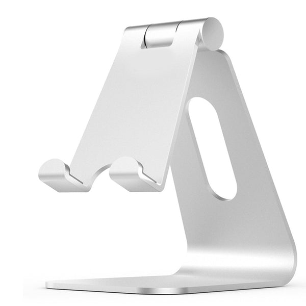 Universal Aluminum Desktop Foldable Adjustable Stand Holder for Tab Cell Phone