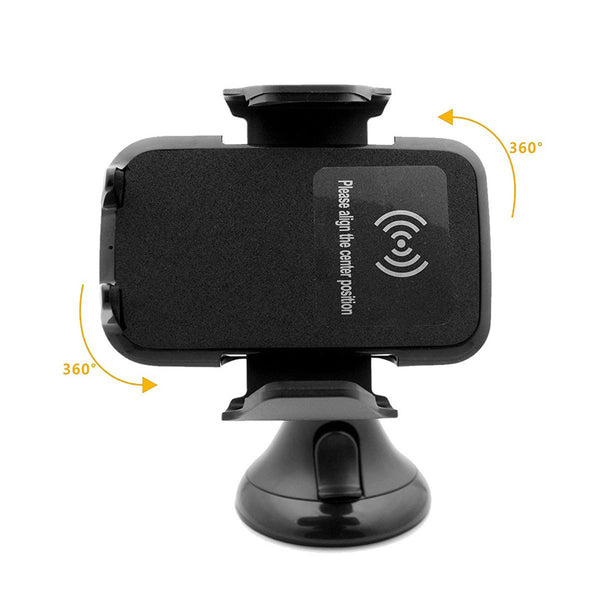 Qi Wireless Charging Dock Charger Car Air Vent Mount Holder Stand For Phone