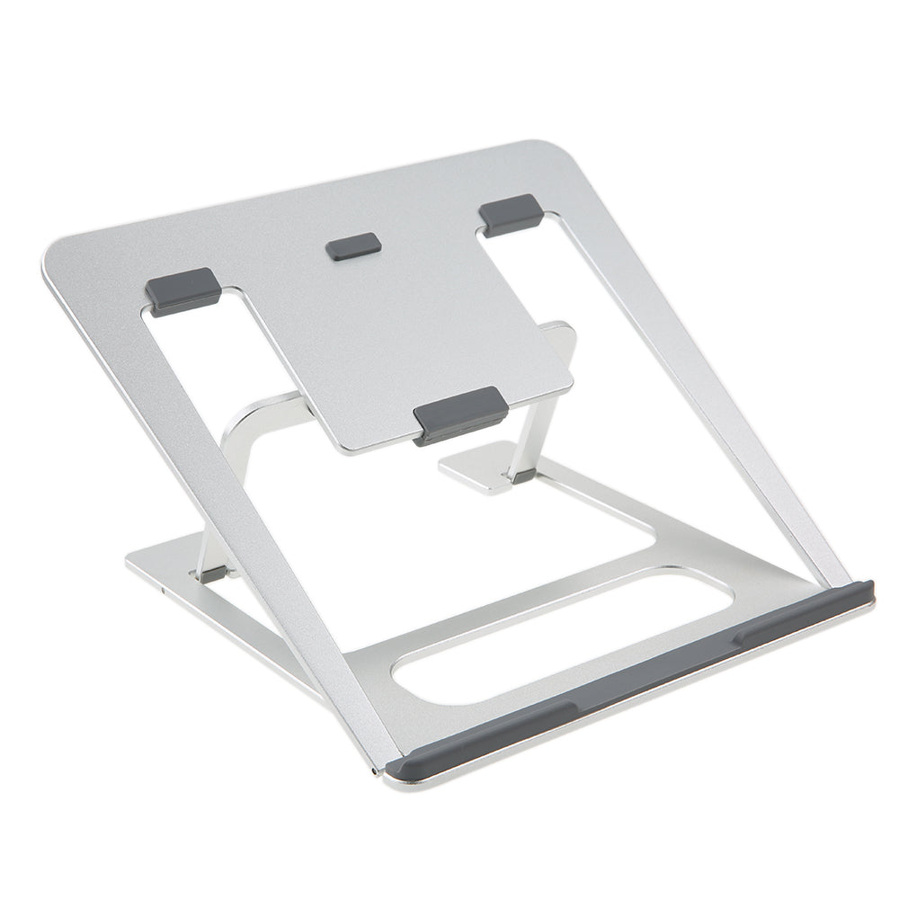 Aluminium Laptop Holder Notebook Height Adjustable Stand Tablet Holder