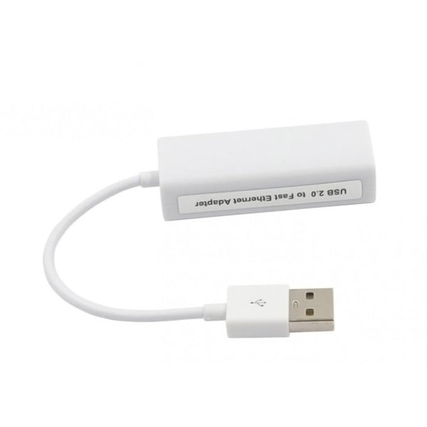axGear USB 2.0 Network Card RJ45 Ethernet LAN Adapter 10/100M Internet Connection