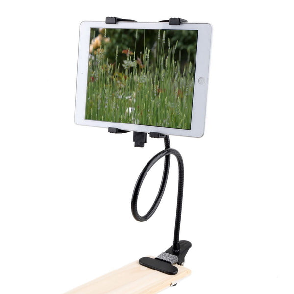 Universal Lazy Bed Desktop Car Stand Mount Holder For Phone Tablet Long Arm