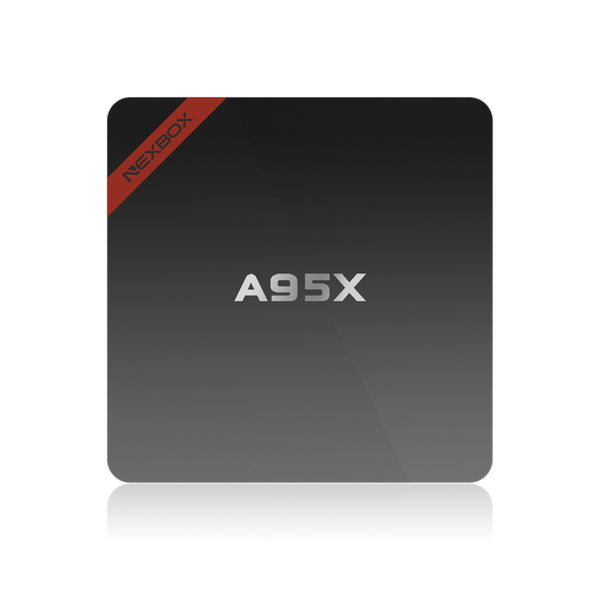 Android Media TV Box A95X Internet Streaming Player 4Kx2K H.265 Quad Core 2G 8G