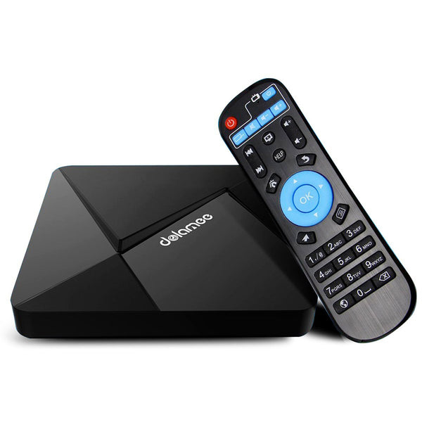 Android Media TV Box Internet Streaming Player 4Kx2K H.265 Quad Core 1G 8G