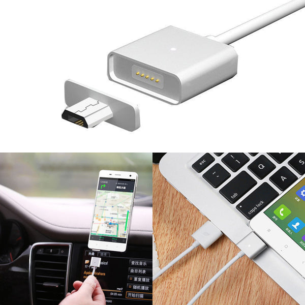 MicroUSB Magnetic Detachable Charging Cable For Android Phone Tablet