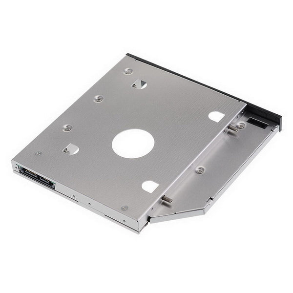 axGear Laptop Optical Bay Hard Drive Tray SATA HDD Caddy Notebook 2nd Hard Disk 9.5mm