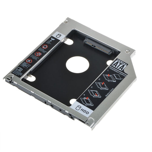 2nd HDD SSD Hard Drive SATA Caddy for Early 2008 Macbook Pro superdrive DVD